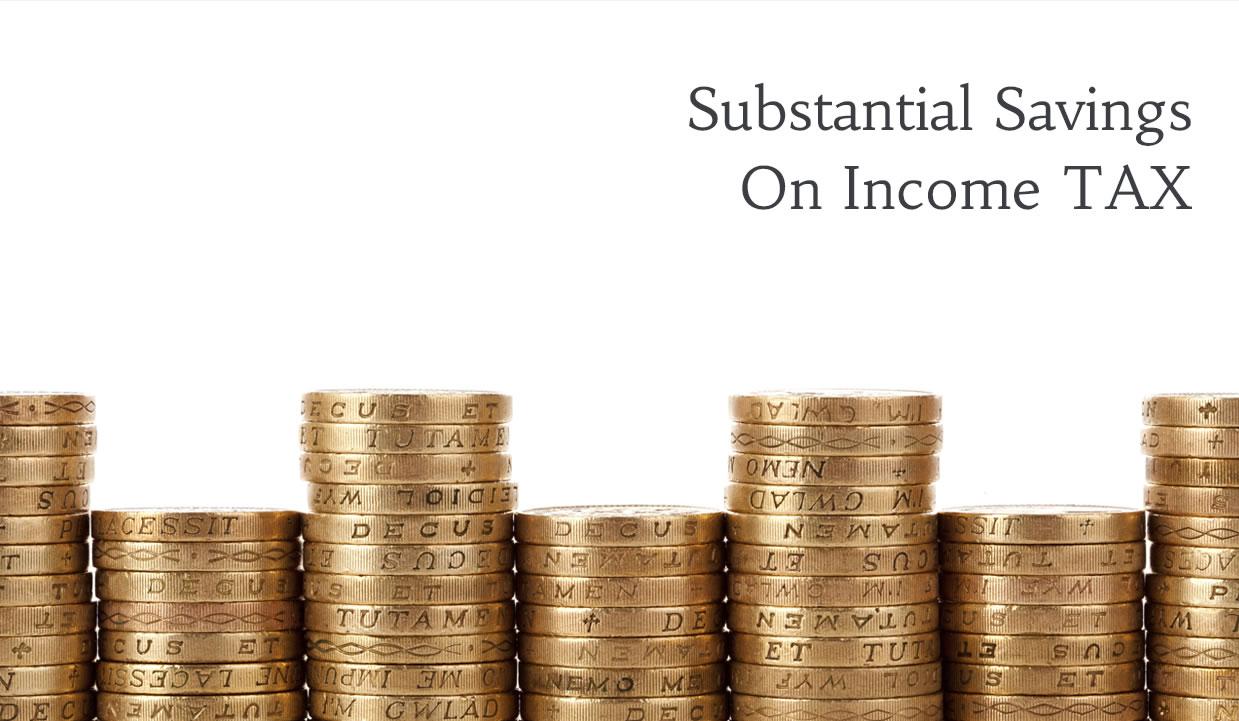 Substantial Savings On Tax